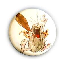 Badge CAPITAINE CAVERNE dessin animé culte années 80 vintage retro pins Ø25mm