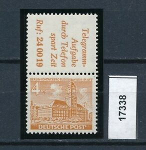 17338) Perfekt: Berlin Zd S 8 einwandfrei postfrisch ** + gepr. BPP (KW 90,00 !)
