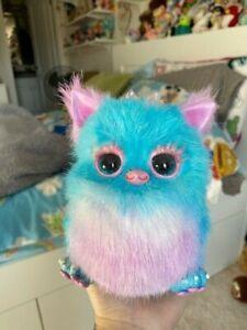 Handmade Furby Art Doll Plush Art Pink And Blue