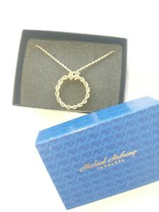 Michael Anthony 14K Gold Necklace With Pendant
