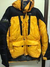 RAB Expedition 850 llenar Goose Down Parka Chaqueta cumbre de extrema para Hombres Talla Grande
