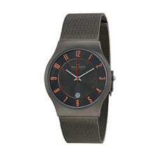 Skagen 233XLTTMO Grenen Denmark Men's Slim Grey Titanium Watch - RRP £ 139