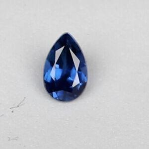Natural Kashmir Blue Sapphire 1.25 Ct Fine Pear Cut Loose Gemstone Certified