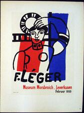 Vintage Lithographs, Kunst Im Plakat, Dufy & Léger, Mourlot 1959, France #1953