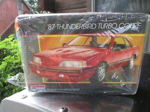 monogram '87 thunderbird turbo coupe
