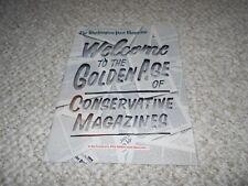 Washington Post Magazine 2018 Golden Age of Conservative Magazines
