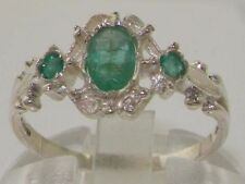 Emerald Natural Oval Fine Rings