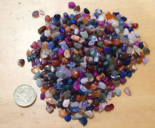 3mm to 5mm ASSORTED TINY POLISHED TUMBLED STONE GEM CHIP CRYSTALS 100 grams