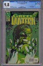 GREEN LANTERN VOL 3 #49 CGC 9.8 EMERALD TWILIGHT 7013 WHITE PAGES