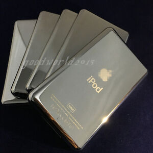 5pcs Metal Back Housing Case Cover panel for iPod 7th classic 160gb Slim(thin)