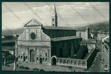 Firenze Città Santa Maria Novella Auto Foto FG cartolina VK2420