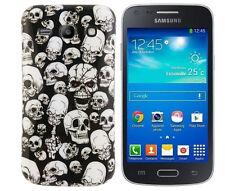 TPU Case f Samsung Galaxy Advance G350E Schutzhülle Tasche Cover Totenköpfe dead