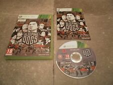 Jeu XBOX360 PAL Version Française: SLEEPING DOGS - Complet TBE