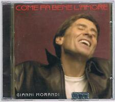 GIANNI MORANDI COME FA BENE L'AMORE CD F.C.