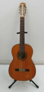 Suzuki Acoustic Guitar Brown 6 String 1664 Stand Carry Case Musical Instrument