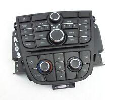 Opel Astra J Radio und Klimabedienteil Klima 13337218 13337691 Bj2010