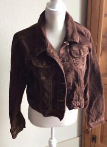 old navy corduroy jacket-Short -brown size XL