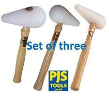 THOR in plastica a forma di pera tiranneggiando Mallet Martello 8898SP, 8899SP & 8900SP Set di 3