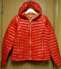 NEW $350 Mountain Hardwear Ghost Whisperer Hooded Down Jacket Womens M Orange