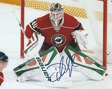 Devan Dubnyk Signed 8x10 Photo Minnesota Wild Autographed COA C