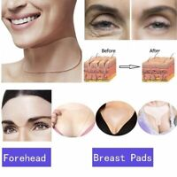 Silicone Anti Wrinkle Neck Chest Aging Reusable Transparent Pads Body Face Care