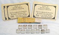 Thirteen 1 oz 999 Silver Art Bar Mission Inn Series 2 & 3 w/ COAs 1000 Minted!