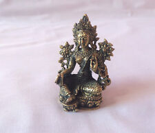 Green Tara Mini Tibetan Deity Statue