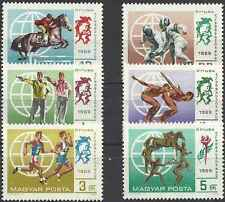 Timbres Sports Hongrie 2073/8 ** lot 11840