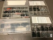 Vintage Traxxas Team Associated Tamiya Large Hardware Parts Lot LOOK!!