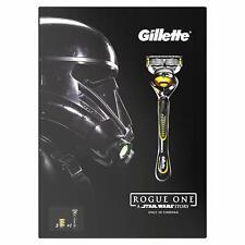 Gillette Fusion ProShield Razor Plus Three Refill Razor Blades Star Wars Set New