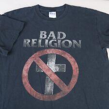 Bad Religion 30 Years Of Punk Rock 1980 2010 Concert Tee Shirt Gildan Heavy M