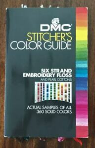 DMC Stitcher's Guide, Actual Samples of All 360 Colors, Fourth Edition