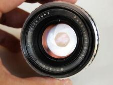 Exakta Zeiss Jena PANCOLAR 50mm lens for Sony A7 A7R II A6000 Leica T  Fujifilm