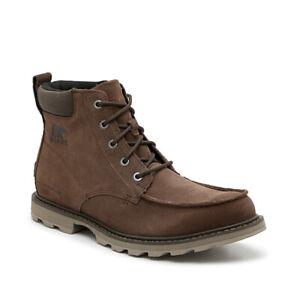 Sorel Fulton Boots waterproof Men's Size 10M Dark Brown - NEW! Best Price