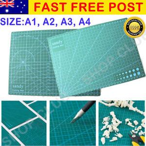 A1 A2 A3 A4 PVC Self Healing Cutting Mat Craft Quilting Grid Lines Printed