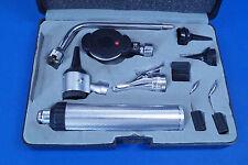 13 teiliges Othoskop Diagnostikset Ophthalmoskop in schwarzer Kunststoffbox