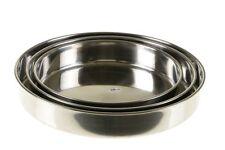 Ofentablett 3-teilig Backblech Rundblech Ofen Tablett Firin Hitzebeständig NEU
