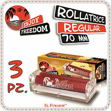 ENJOY FREEDOM ROLLATORE 3 Pz - MACCHINETTA ROLLATRICE CARTINE CORTE REGULAR 70mm