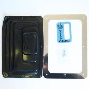 HURST V Gate Vertical Gate 4 Speed Drag Race Shifter Boot Kit 1141653  HURST