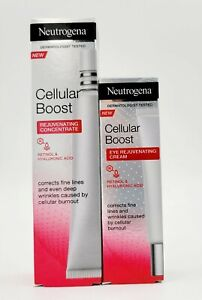 Neutrogena Cellular Boost Rejuvenating Concentrate 30ml & Eye Cream 15ml Bundle