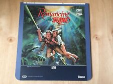 Romancing The Stone CED SelectaVision Movie Vintage 80's