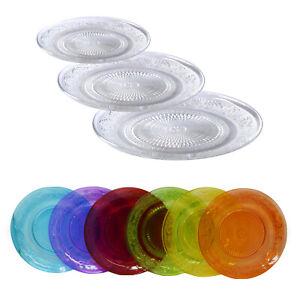 Glasteller Dekoteller Teller Servierteller Kuchenteller Platzteller Unterteller