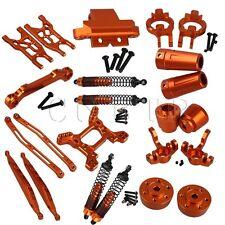 23 Orange Aluminum Alloy RC1:10 Upgrade Parts for AXIAL YETI Rock Crawler