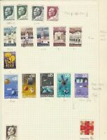 yugoslavia   stamps on album page ref 10735