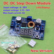 DC-DC3V 3.3V 5V 6V 12V 19V 24V 5A Adjust Buck Step Down Voltage Regulator Module