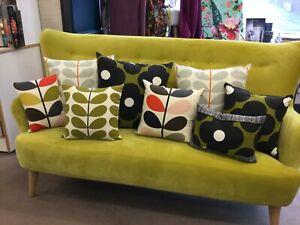 BESPOKE HANDMADE cushion cover Use ALL Orla Kiely  Fabric SINGLE SIDED