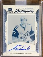 2015 2016 UD THE CUP Anthony Deangelo AUTO PRINTING PRINT PLATE ROOKIE RC 1/1