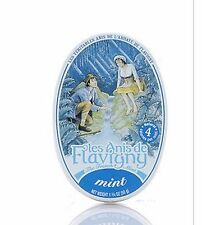 Anis de Flavigny Mint Pastilles 1.75oz tin by Abbaye 50 gram