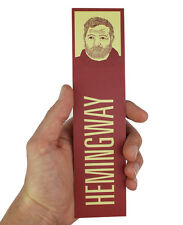 Ernest Hemingway Marque-Page ! pour Whom The Sonnette Plieur, Vieux Homme et Mer