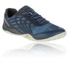 Scarpe da ginnastica da uomo blu Merrell Trail Glove